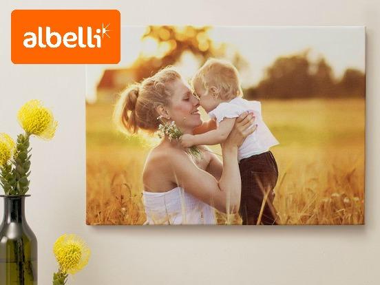 Tweede prijs: Je foto op canvas van Albelli