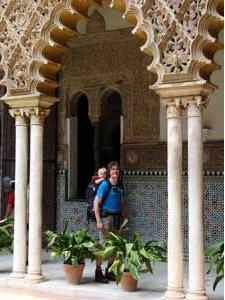 Lekker struinen in de Alhambra