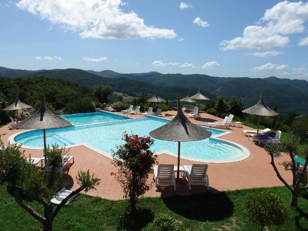 Mooi zwembad bij een Agriturismo in Toscane