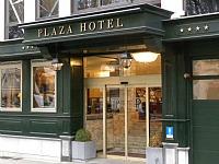 Het Plaza hotel in Antwerpen