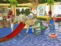 Zwembad bij Aquadelta