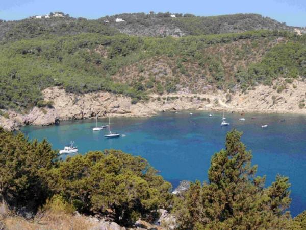 Genieten op het strand van Ibiza