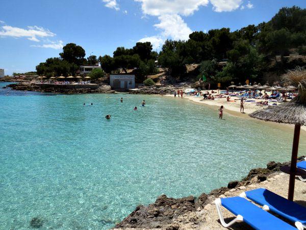 Eén van de kleine baaien in het Oosten van Mallorca