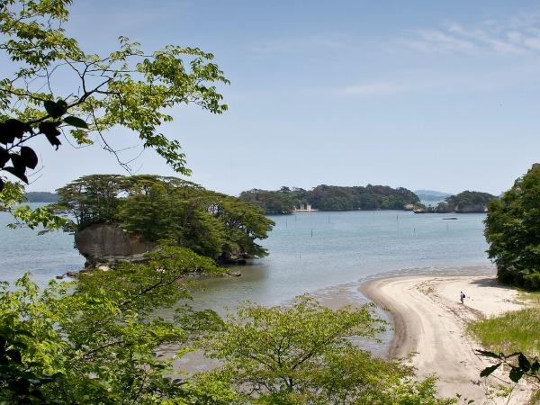 De baai van Matshushima
