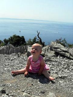 Met je baby in de bergen