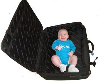 Vergeet vooral de baby zelf niet!