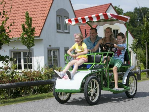 Familiefiets op vakantiepark Bad Bentheim