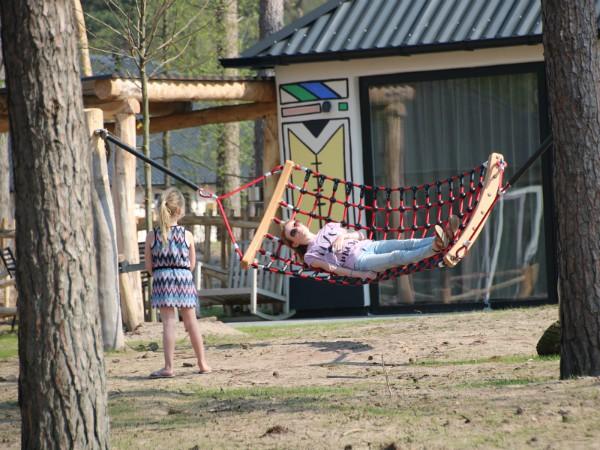Kidslodges met speeltuintje bij Safari Resort Beekse Bergen