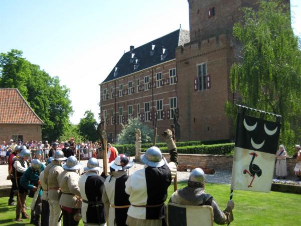 De belegering van kasteel Bergh