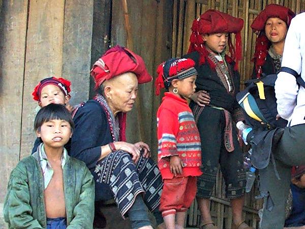 Bezoek aan de Zao bergstam in Noord-Vietnam