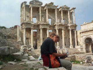 De bibliotheek van Ephesus