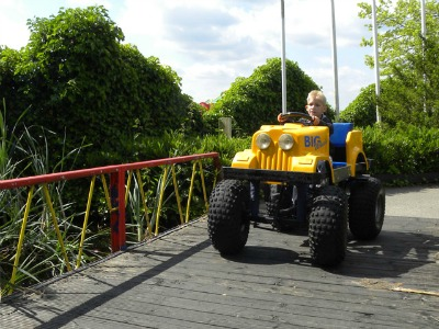De Big-wheels bij Speelland Beekse Bergen