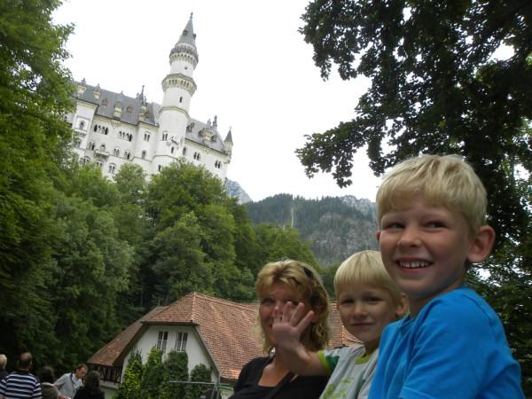 Het prachtige slot Neuschwanstein in Duitsland
