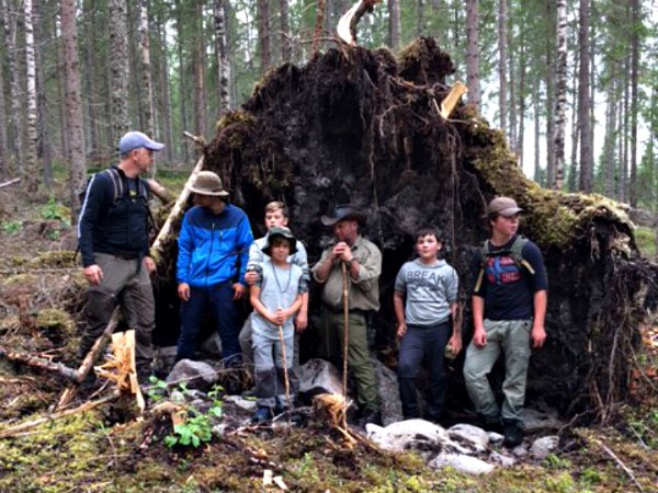 Bushcraft in Zweden