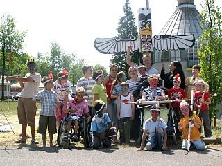 Vele activiteiten voor gehandicapte kinderen bij Bio