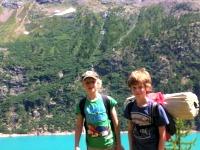 Op bivak in de Italiaanse Alpen