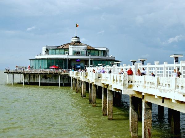 De pier van Blankenberge is de enige in België