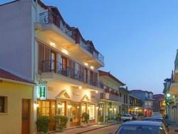 Hotel Pan in de smalle straatjes van Delphi