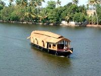 Slapen op een boot in India