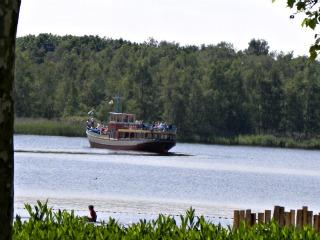 Het Victoriameer bij Vakantiepark Beekse Bergen