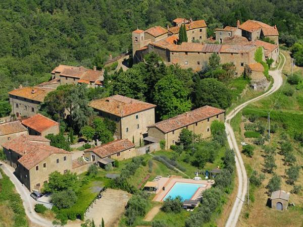 landgoed van Borgo Rapale