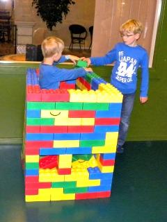 Spelen met bouwstenen