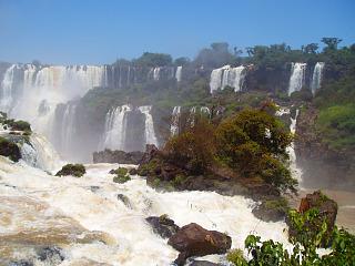 De Iguacu watervallen