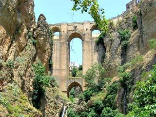 Eén van de drie bruggen van Ronda