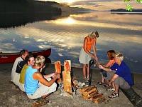 Picknicken aan een prachtig Fins meer