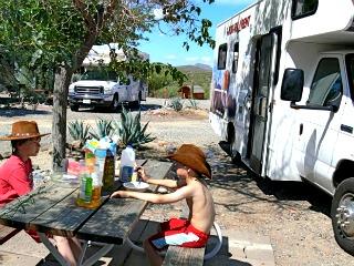 Op vakantie met de Camper