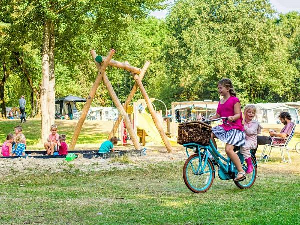 Gezellig sfeertje op kindercamping De Berenkuil in Drenthe