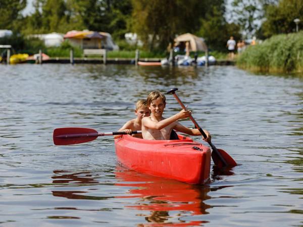 camping de potten friesland kanovaren