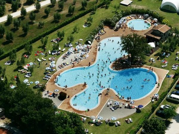 Zwembad van Camping Fornella