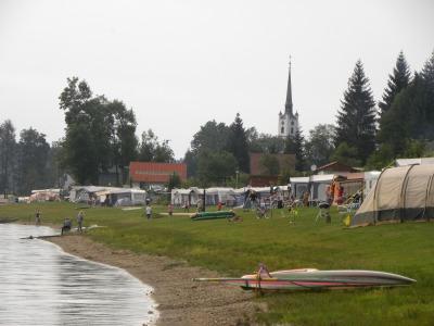 De prachtige camping Frymburk in Tsjechië