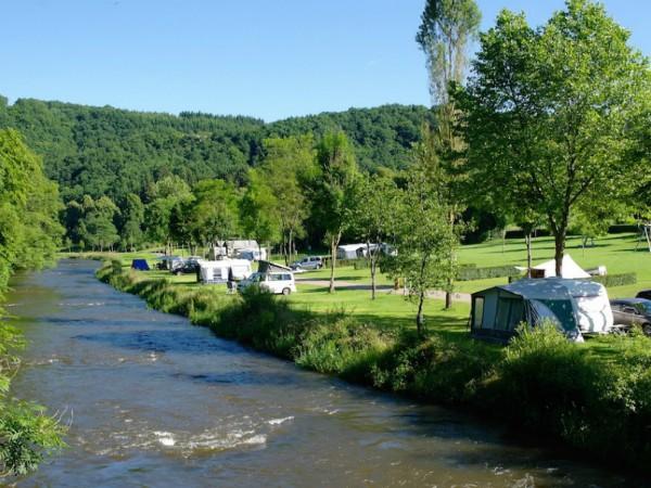 Camping Kohnenhof aan een leuk riviertje