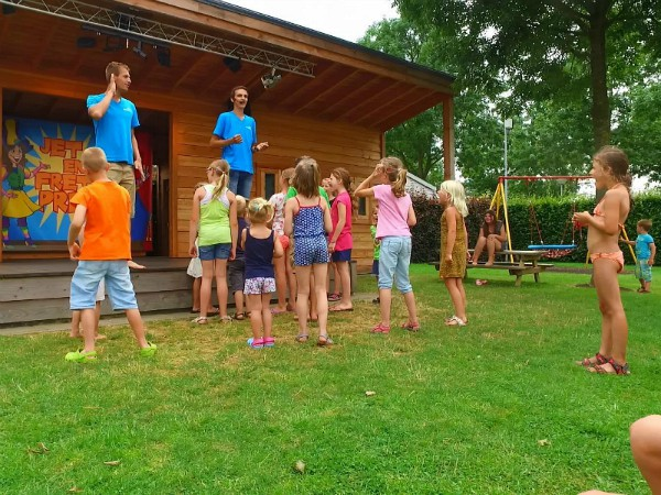 Animatie op Camping Oriental in Limburg