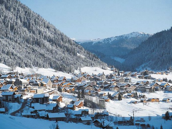 Wintersportdorp Chatel