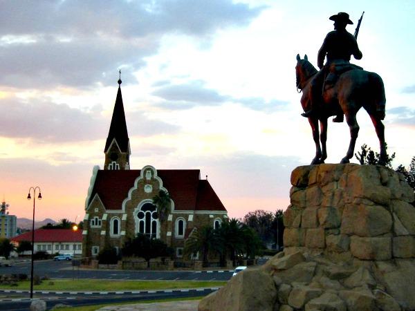 De Christuskerk in Windhoek