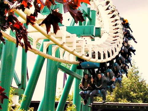 De Condor in Walibi Holland