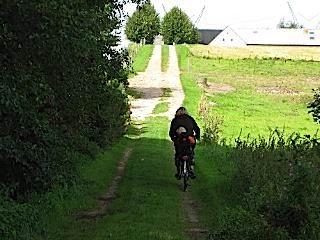 Fietsen met de kleine achterop in Denemarken
