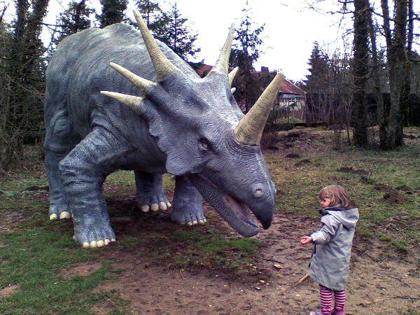 Bij de Dino-Zoo in Charbonnières-les-Sapins