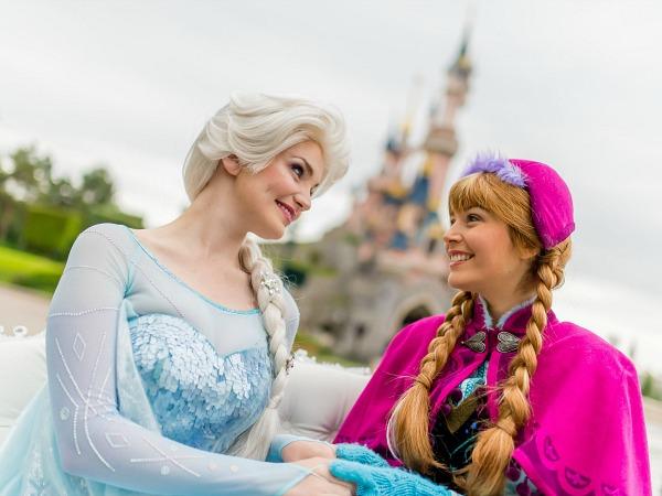 Disneyland Frozen Summer