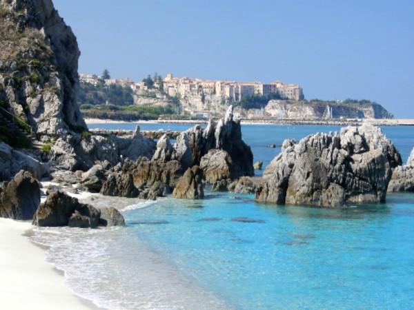 Strand aan de Amalfikust