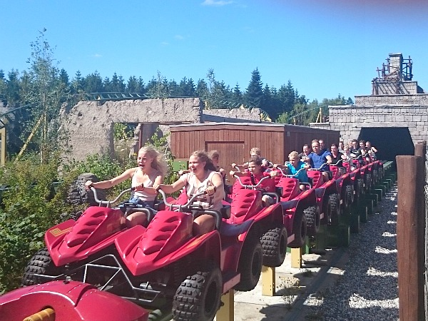 Juvelen attractie in Djurs Sommerland