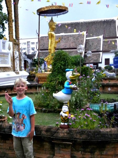 Zeb voor de Donald Duck tempel