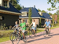 Op de fiets bij landgoed Hunzebergen