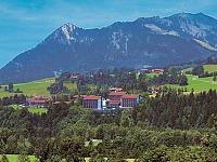 Het prachtig gelegen Allgäu Stern hotel