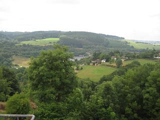 Uitzicht bij Eifelpark Kronenburger See