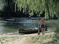 Kanoën op de Altmühl rivier