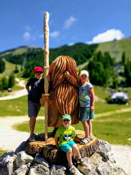 Eervolle vermelding: dwerg in Slovenië